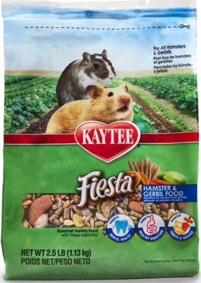 Kaytee Fiesta Hamster and Gerbil Food