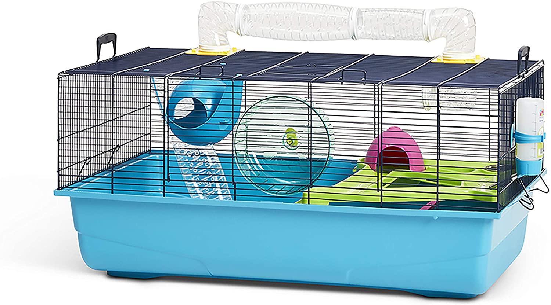 Savic Hamster Sky Navy Blue Hamster Cage 80 X 50 X 50 Cm