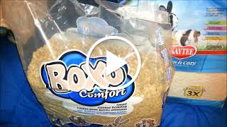 boxo comfort and kaytee clean cozy